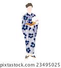 유카타 여성 수석 23495025