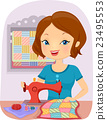 Girl Sew Quilt 23495553