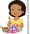 Girl Sew Quilt 23495554