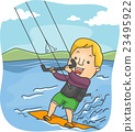Man Kite Surfing 23495922