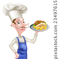 chef, food, cook 23497615