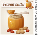Peanut butter. Detailed Vector Icon 23498734