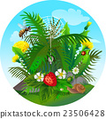vector summer illustration  insect 2 23506428