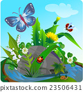 3vector summer illustration  insect 2 23506431