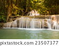 Deep forest blue stream waterfalls 23507377