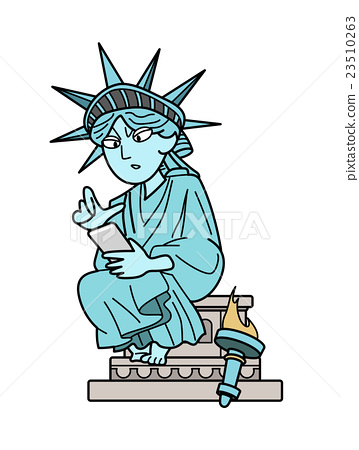 Statue of Liberty - to examine 23510263