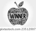 Winner apple word cloud 23512007