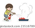소화 훈련 어린이 23516789