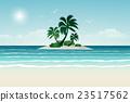 Paradise beach. 23517562