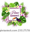 flower bird leaf 23517578