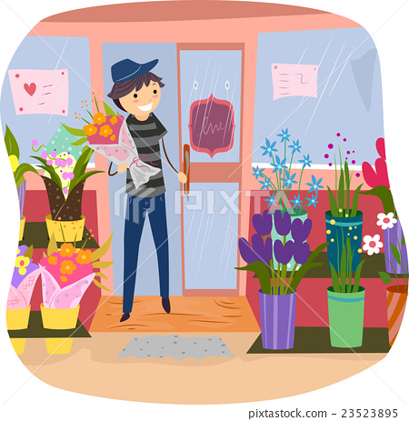 Stickman Purchase Flower Shop 23523895
