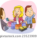 Couple Shopping Annoyed Husband 23523909
