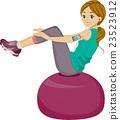 平衡球 球 健身球 23523912