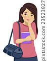 Teen Girl Shy Blush 23523927