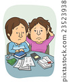 couple, worried, financial 23523938