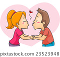 Couple Kiss 23523948
