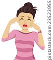 Teen Girl Crying 23523955