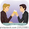 Couple Gay Toast 23523981