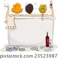 Girls Outdoor Bath 23523987