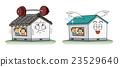 집, 벡터, 건축 23529640