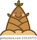 竹笋 蔬菜 原料 23529773
