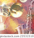 abstract grunge piano background with saxophone 23531510