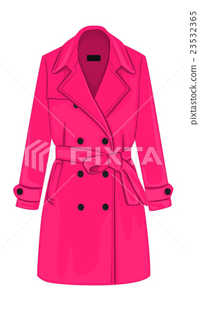 Womens coat with a belt 23532365