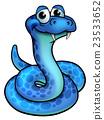 Cartoon Snake 23533652