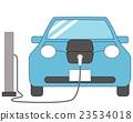 电动汽车 收费 汽车 23534018