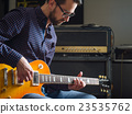 recording, studio, electric 23535762