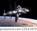 卫星 穿梭班机 空间 23541979
