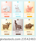 Farm animals banner for web design 23542463