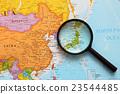 세계지도, 지도, 일본 23544485