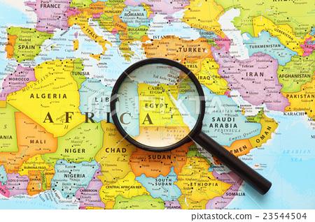 世界地圖·埃及 23544504