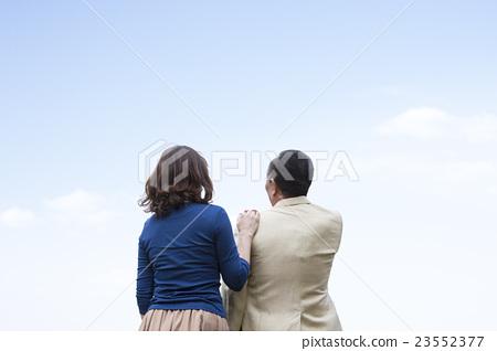안아 일본인 중년 부부 23552377