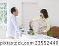 夫婦 做菜 煮飯 23552440