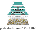 Illustration of Nagoya Castle 23553382
