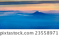 Aerial view of Mount Fuji in the morning 23558971