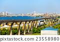 Tokyo Monorail line at Haneda International 23558980