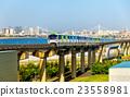 monorail, train, tokyo 23558981