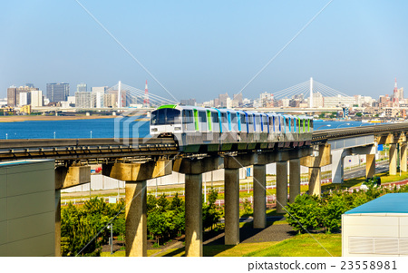 Tokyo Monorail line at Haneda International 23558981