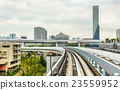 View of Tokyo from Yurikamome line 23559952
