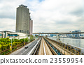 tokyo, train, yurikamome 23559954