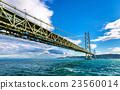 Akashi Kaikyo suspension bridge in Japan 23560014