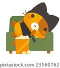 矢量 卡通人物 貓 23560762