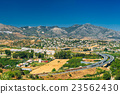 Panoramic View Of Cityscape Of Mijas in Malaga 23562430