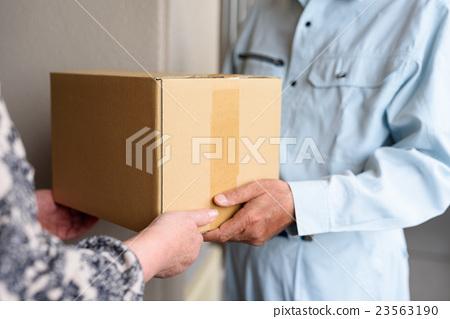 일하는 노인 배달원 23563190