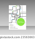 Pipe Vector template brochure 23563663