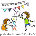 学习英语的孩子们很有趣 23564572