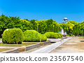 View of Osaka Castle Park in Japan 23567540